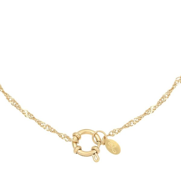 Ketting Chain Dee Stainless Steel goud